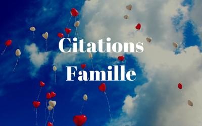 Citations Famille