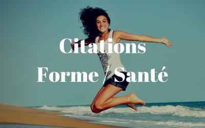 Citations Forme Santé
