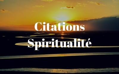 Citations Spiritualité