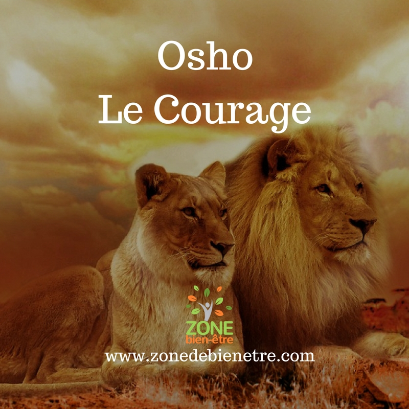 osho courage